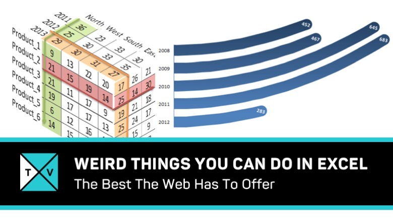 Weird Things You Can Do In Excel - Excel TV